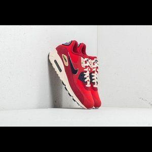 Nike Air Max 90 Premium Varsity Red